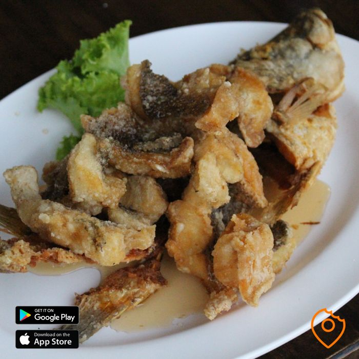 Deep-Fried Sea Bass in Fish Sauce
