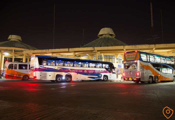 Nightbus in Bangkok