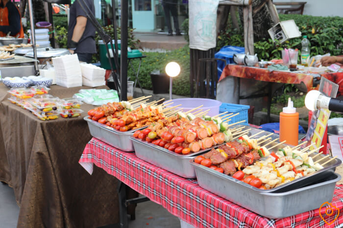 street food near bangkok airport