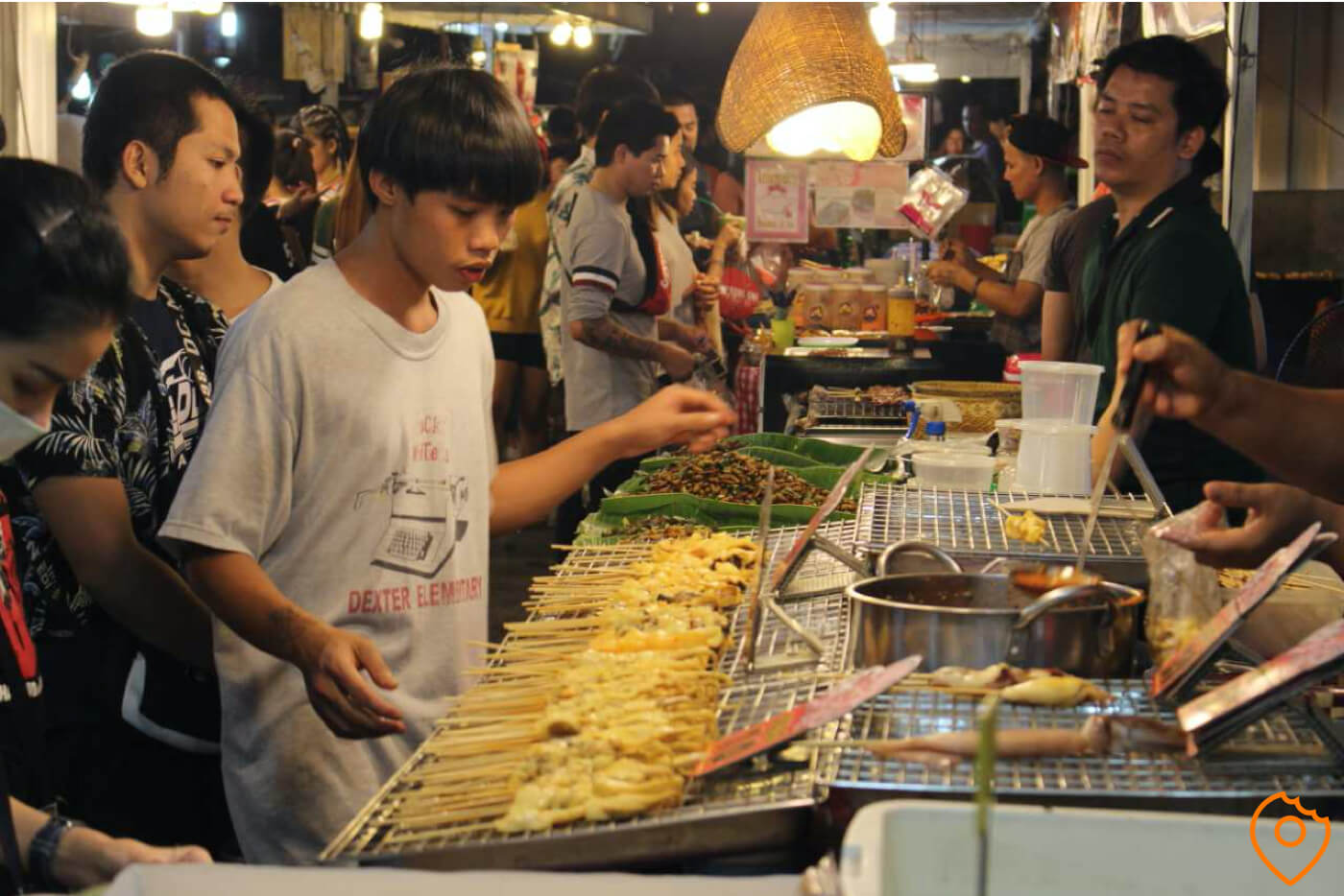 street food night markets bangkok