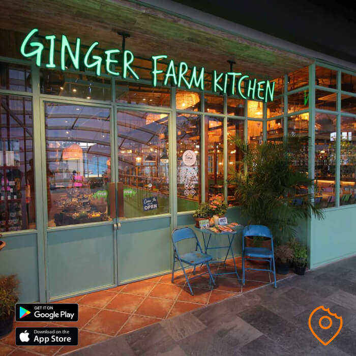 Ginger Farm Kitchen Front