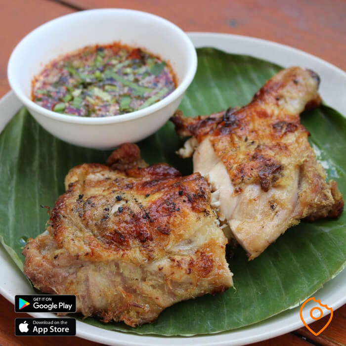 Grilled Chicken with JAEW Sauce