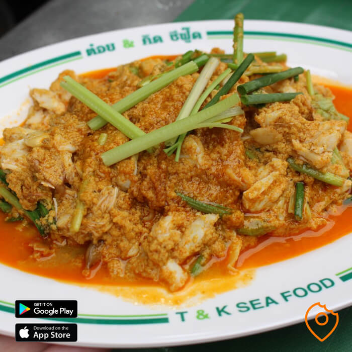 T&K Seafood Crab Curry
