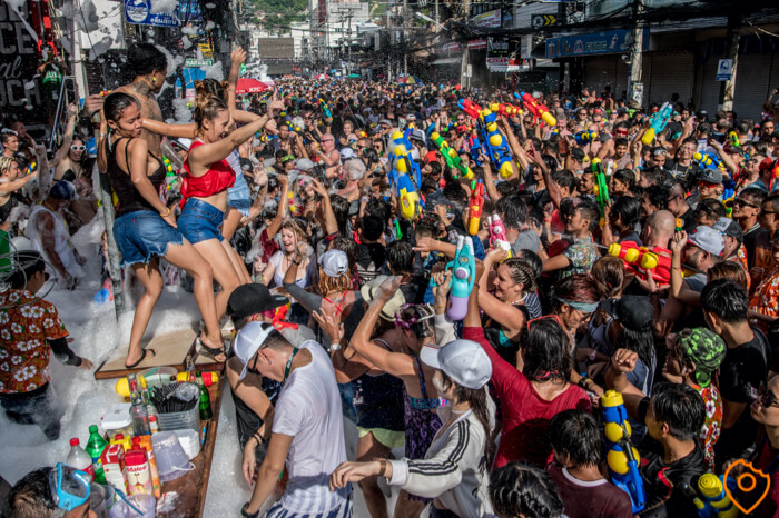 it is the most popular festival in Thailand