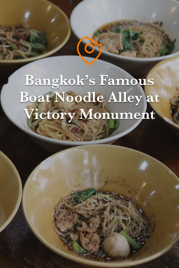 Victory Monument Boat Noodle