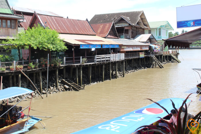 Amphawa Floating Market Dock