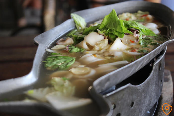 Squid in Lime Soup