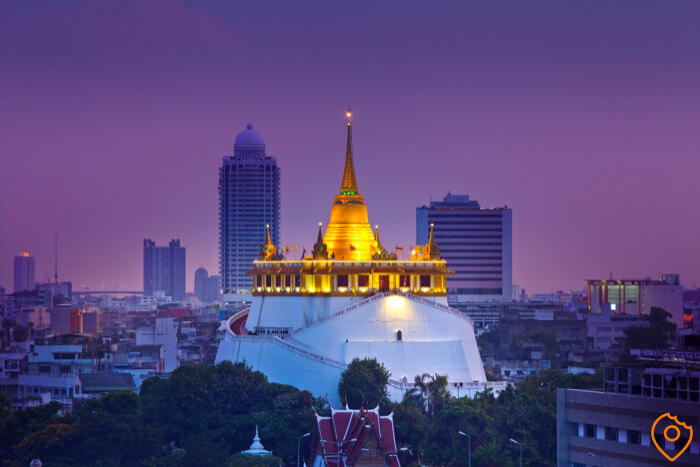 Wat Saket Food Tour Bangkok