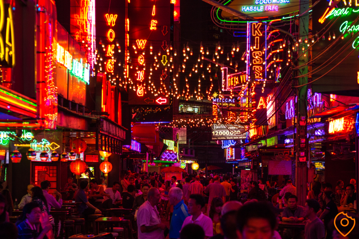 Best Area To Stay In Bangkok First Time - Soi Cowboy
