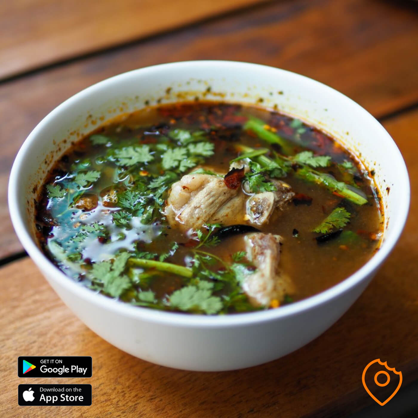 Spicy Thai Pork Soup