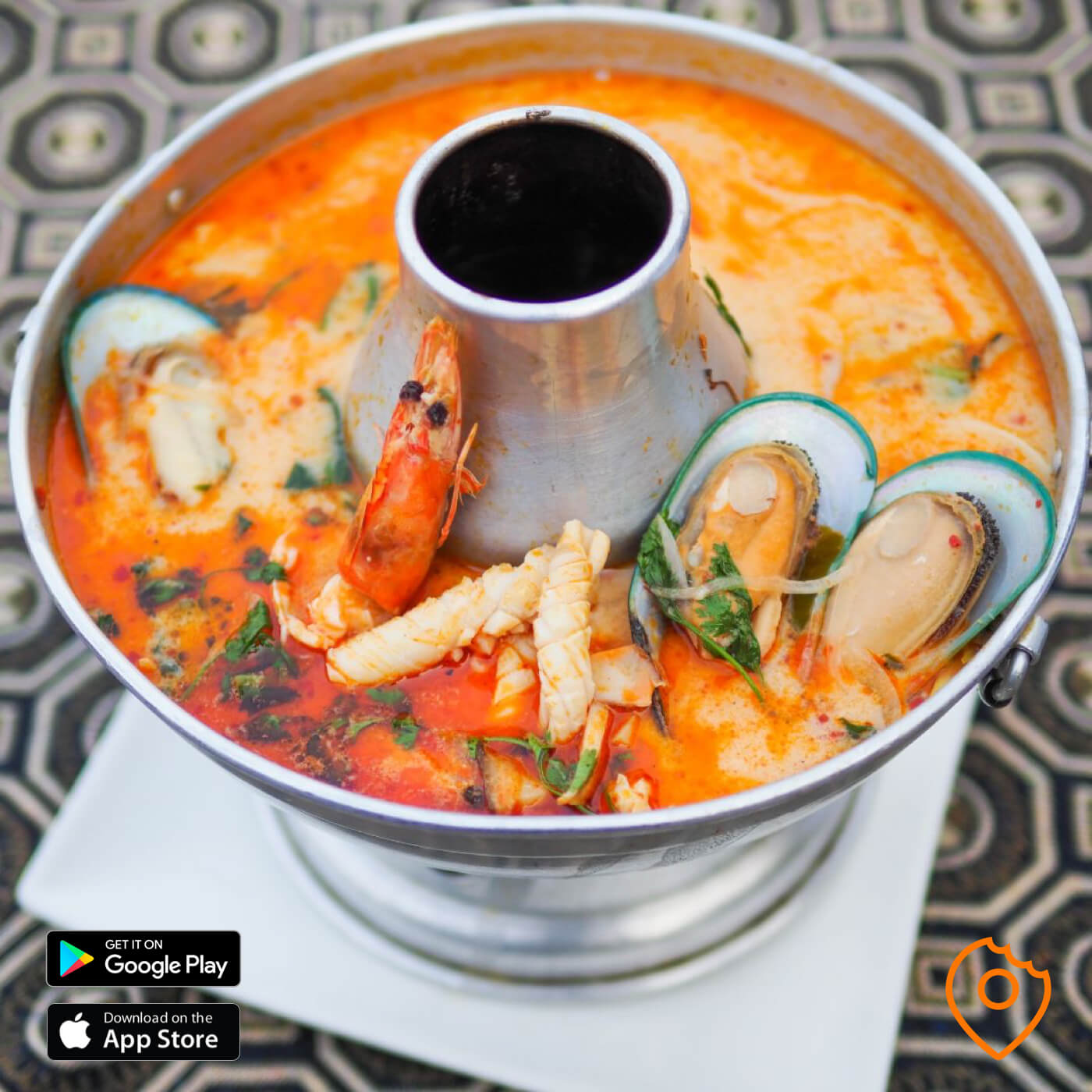 Tom Yum Seafood