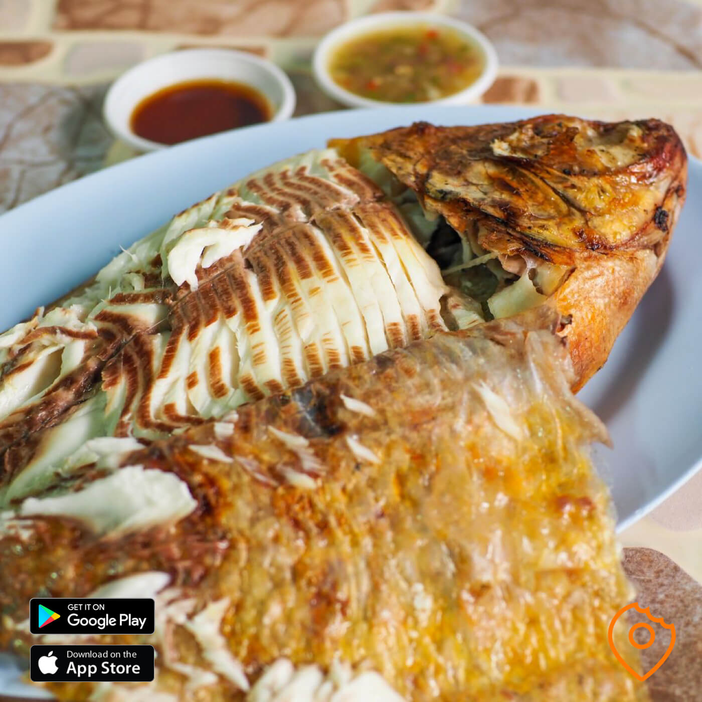 Grilled Tilapia with Salt