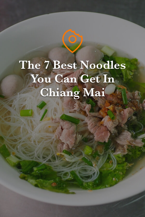 Best Noodles in Chiang Mai