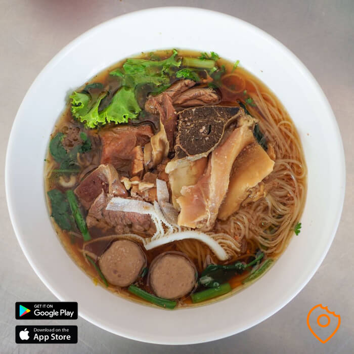 Best Noodles in Chiang Mai Beef