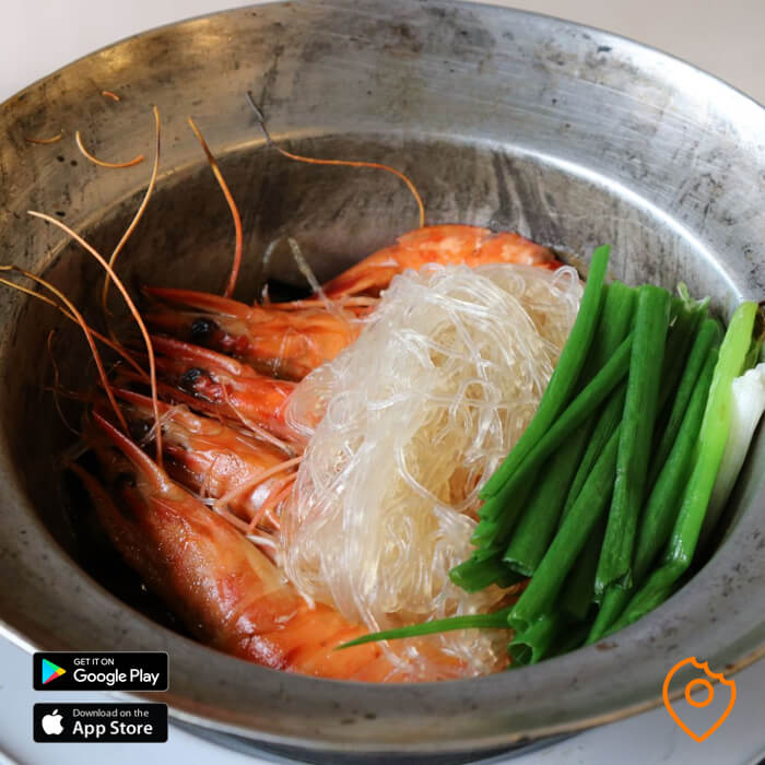 prawn glass noodles