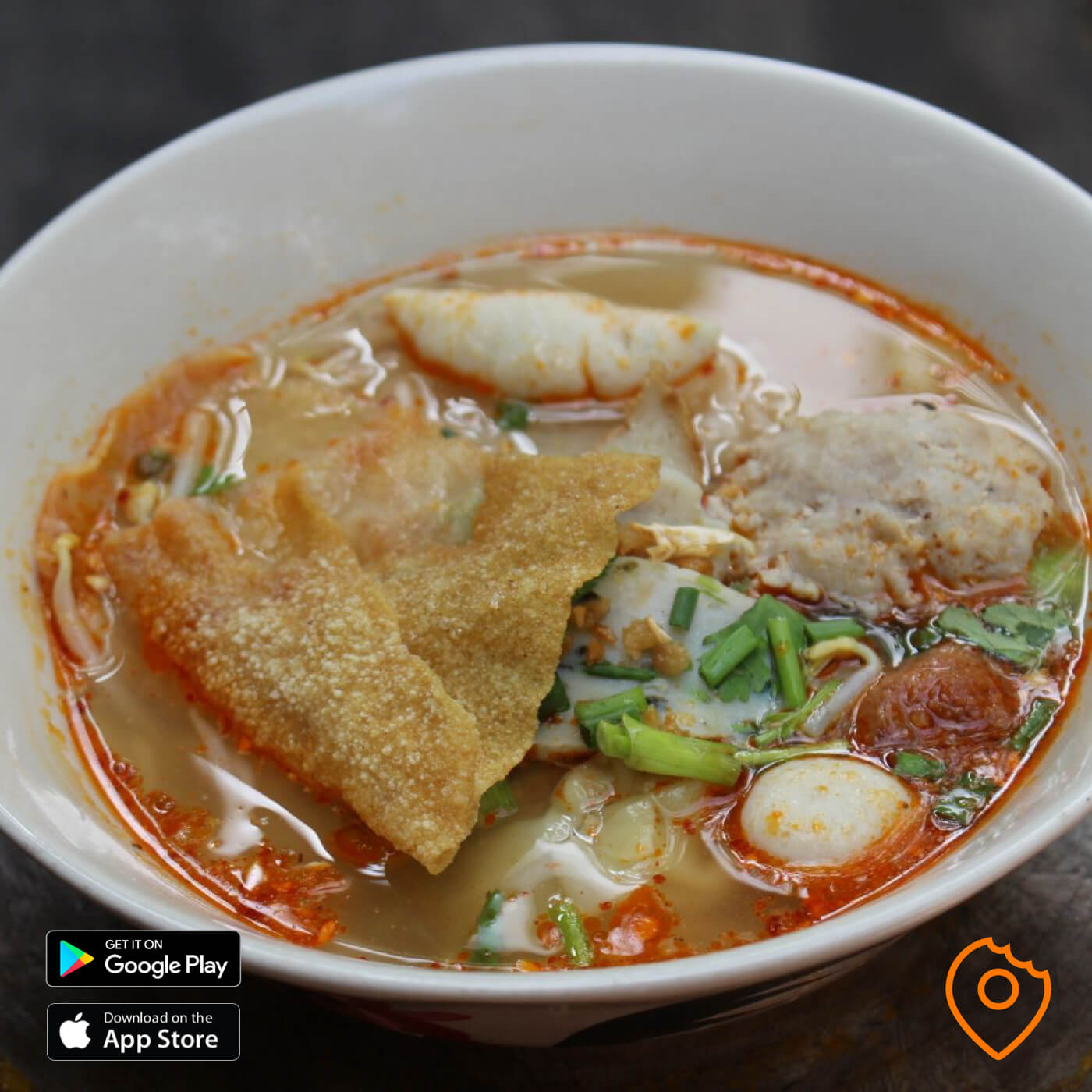 Zaew Noodle Tom Yum Soup