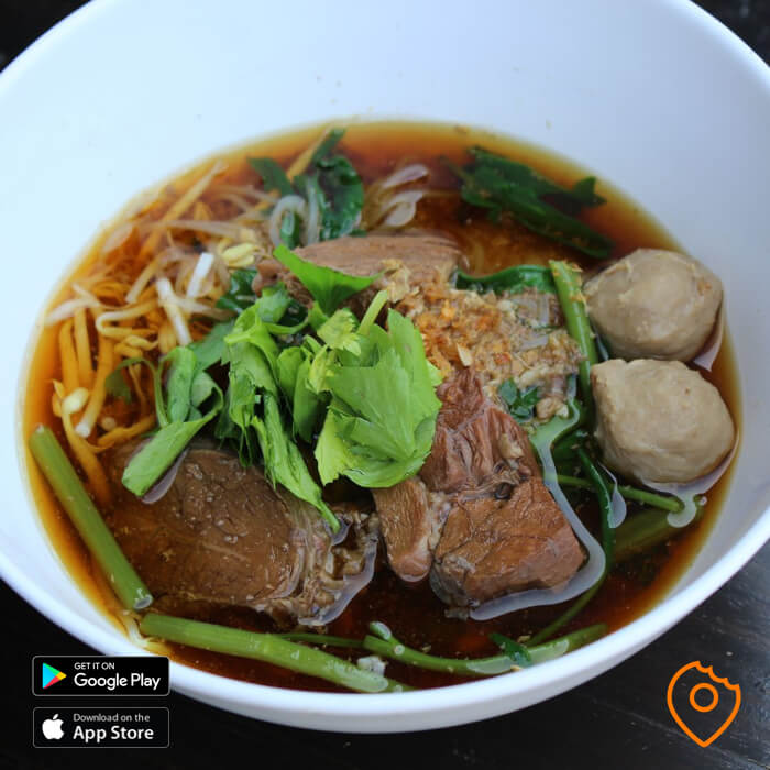 Local Thai Restaurant Beef Noodles