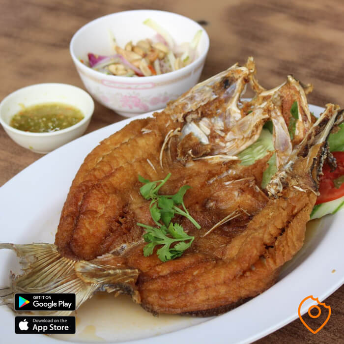 Suvarnabhumi Aoun and Phom Restaurant Fish
