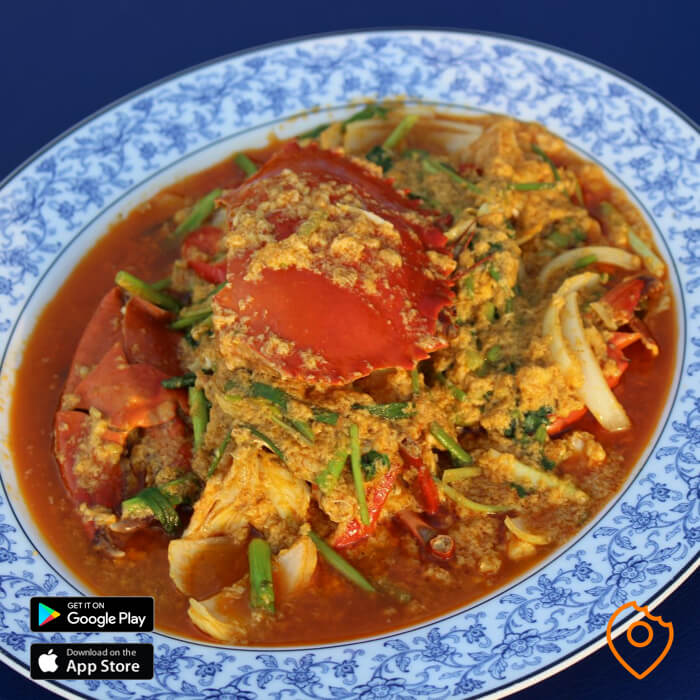 Seafood Pattaya Crab Curry
