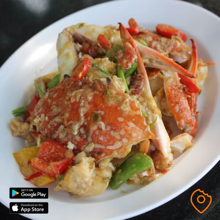 Seafood Pattaya Crab in Lime
