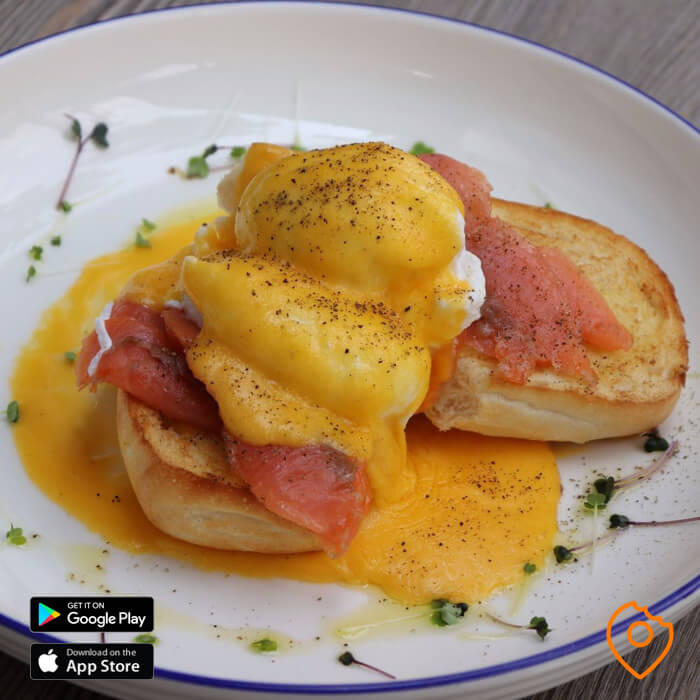 Egg Benedict Coffee Club Pattaya