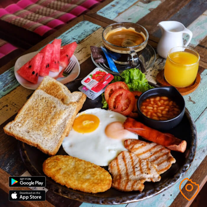 English Breakfast Set Pattaya Jasmin's