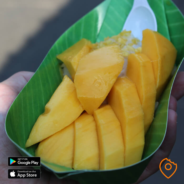 Chatuchak Market Food Mango Sticky Rice