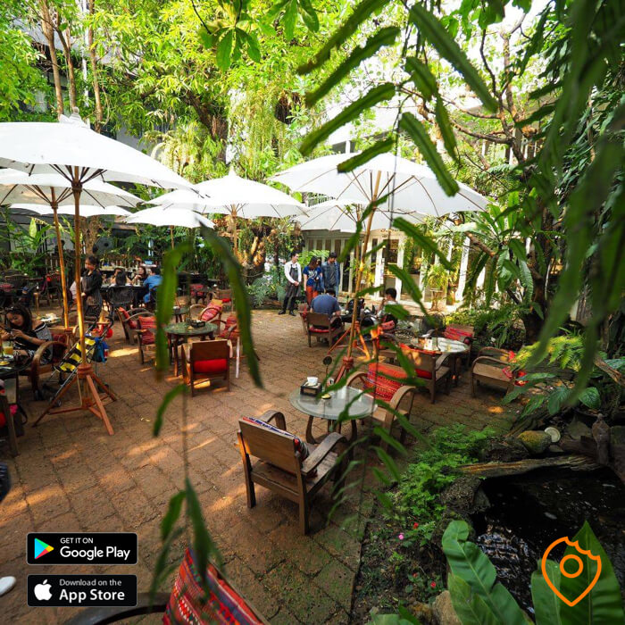 fern forest cafe outdoor seats