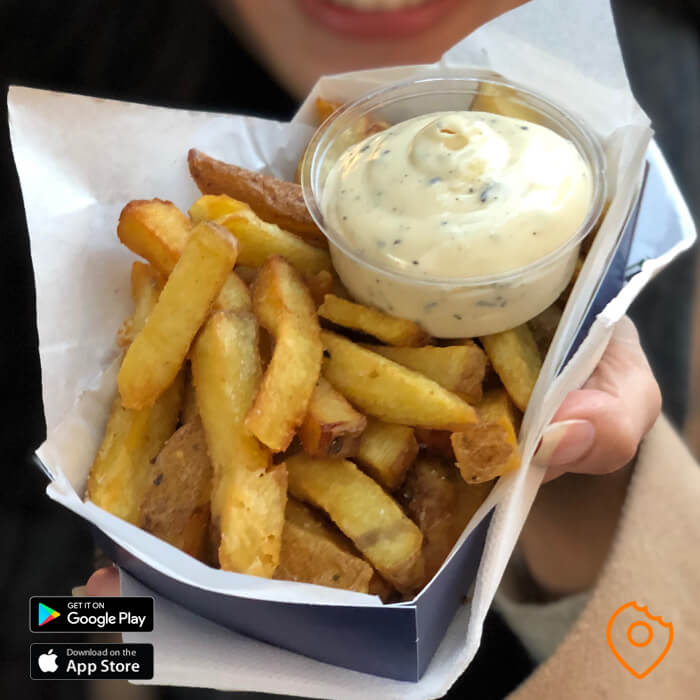 Fries with Truffle Mayonaise