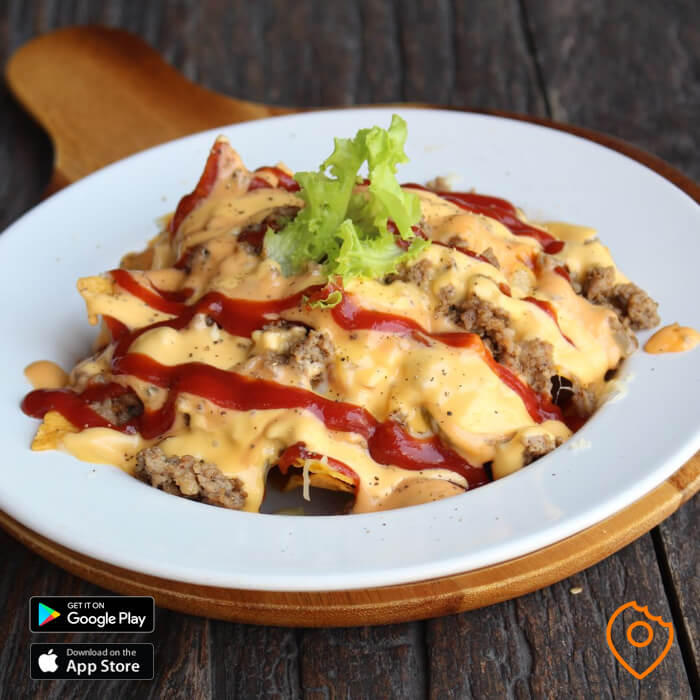 Jim's Burger Pattaya Nachos