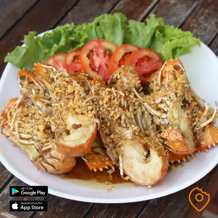 Pattaya Food Fried Lobster