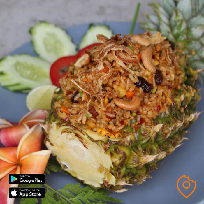 Pattaya Food Pineapple Rice