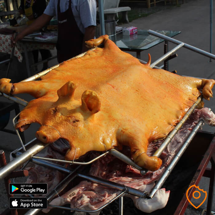 Pattaya Food Roast Pork