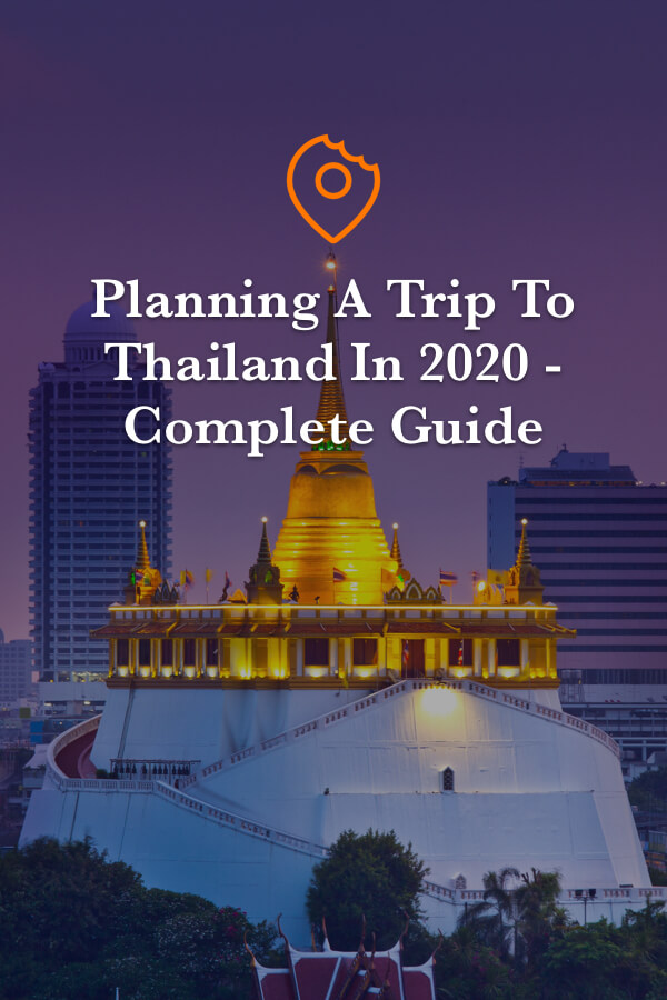 Planning a trip to Thailand 2020