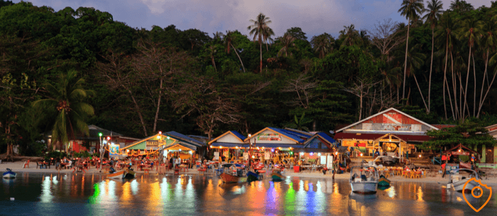 thailand itinerary parties