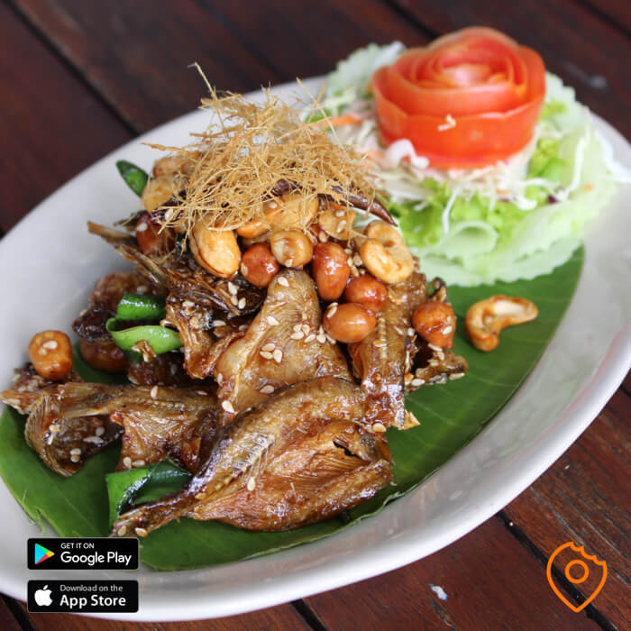 Fried Fish Soy Sauce