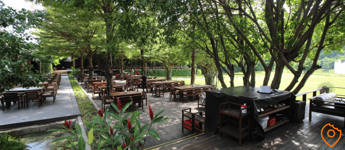 Keeree Mantra Restaurant Kanchanaburi Outdoor