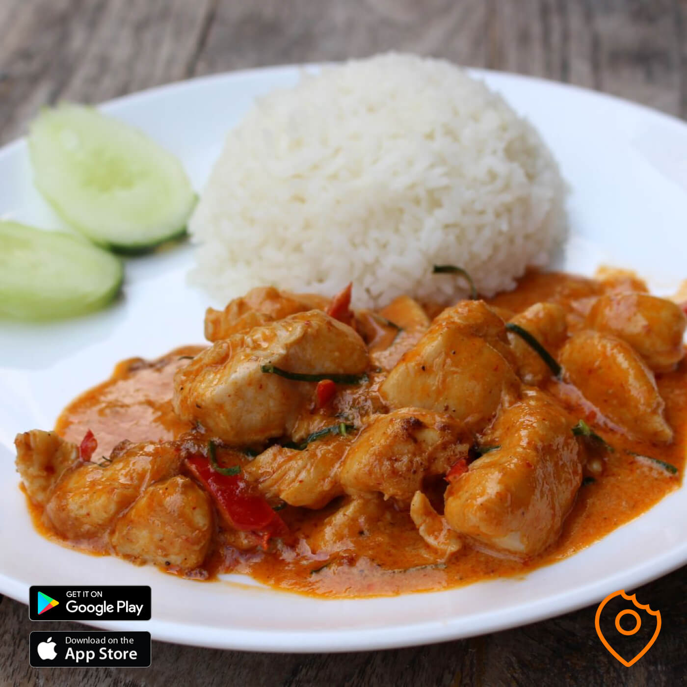 Baan ThaThien Red Curry Chicken