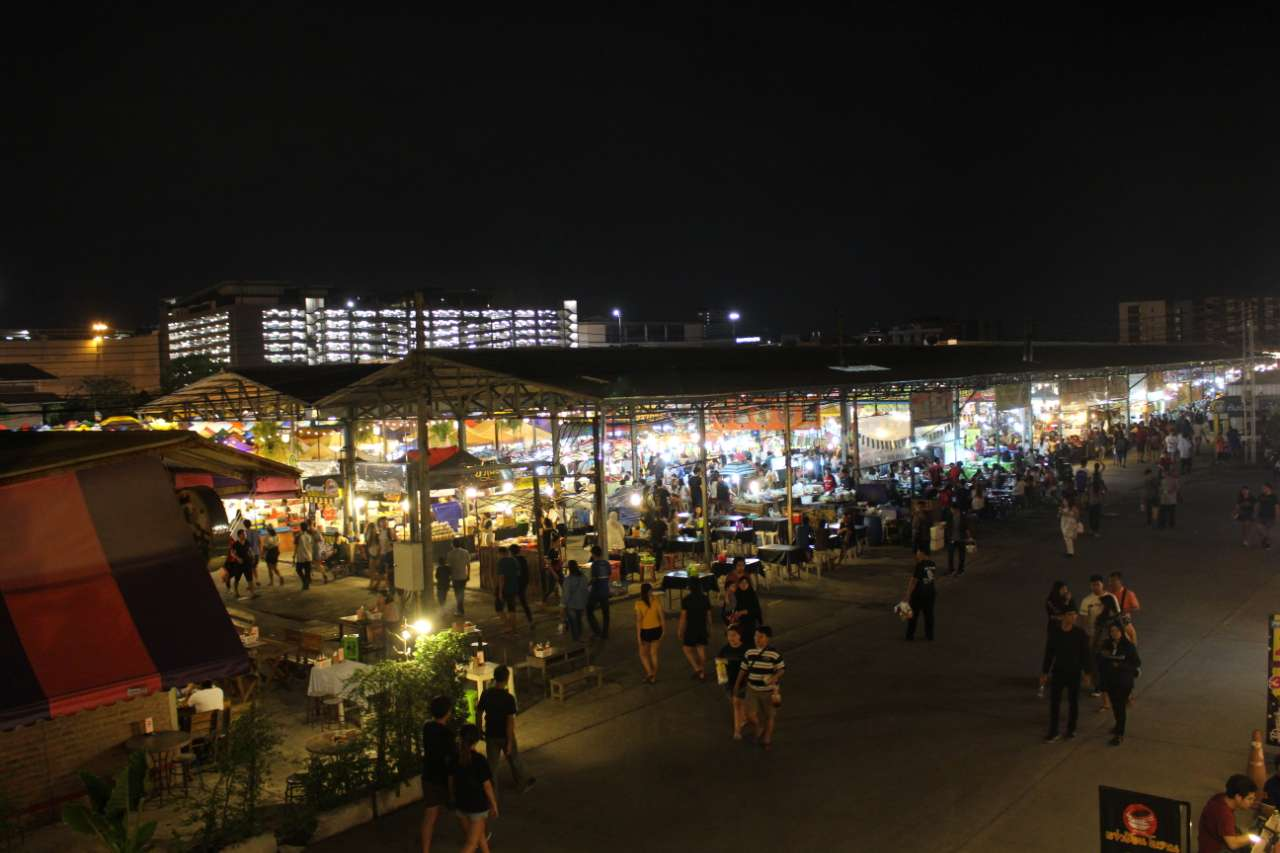 Srinakarin at Night