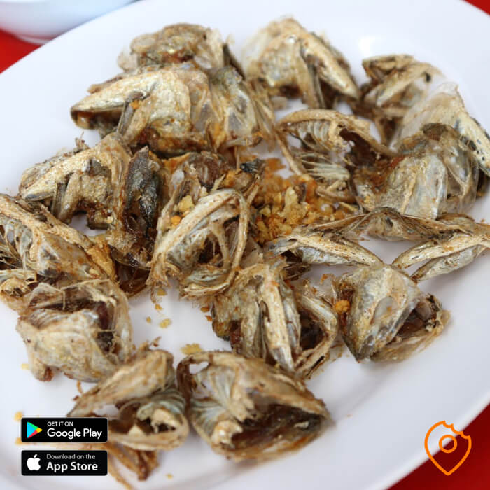 Fried Mackerel Cheeks
