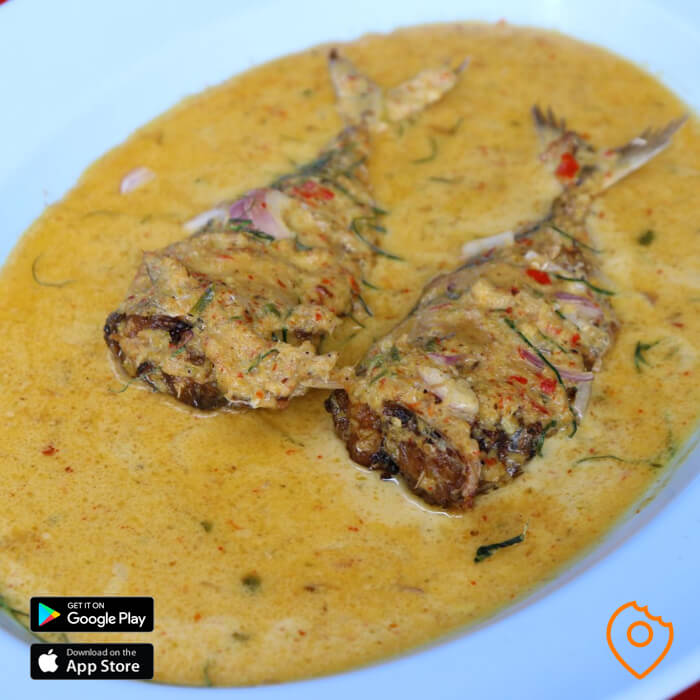 Red Curry Mackerel at Soei Restaurant