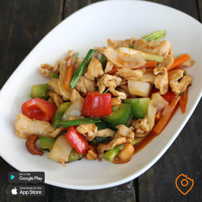 Chicken cashew for beginners