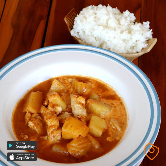 massaman curry thai food for beginners