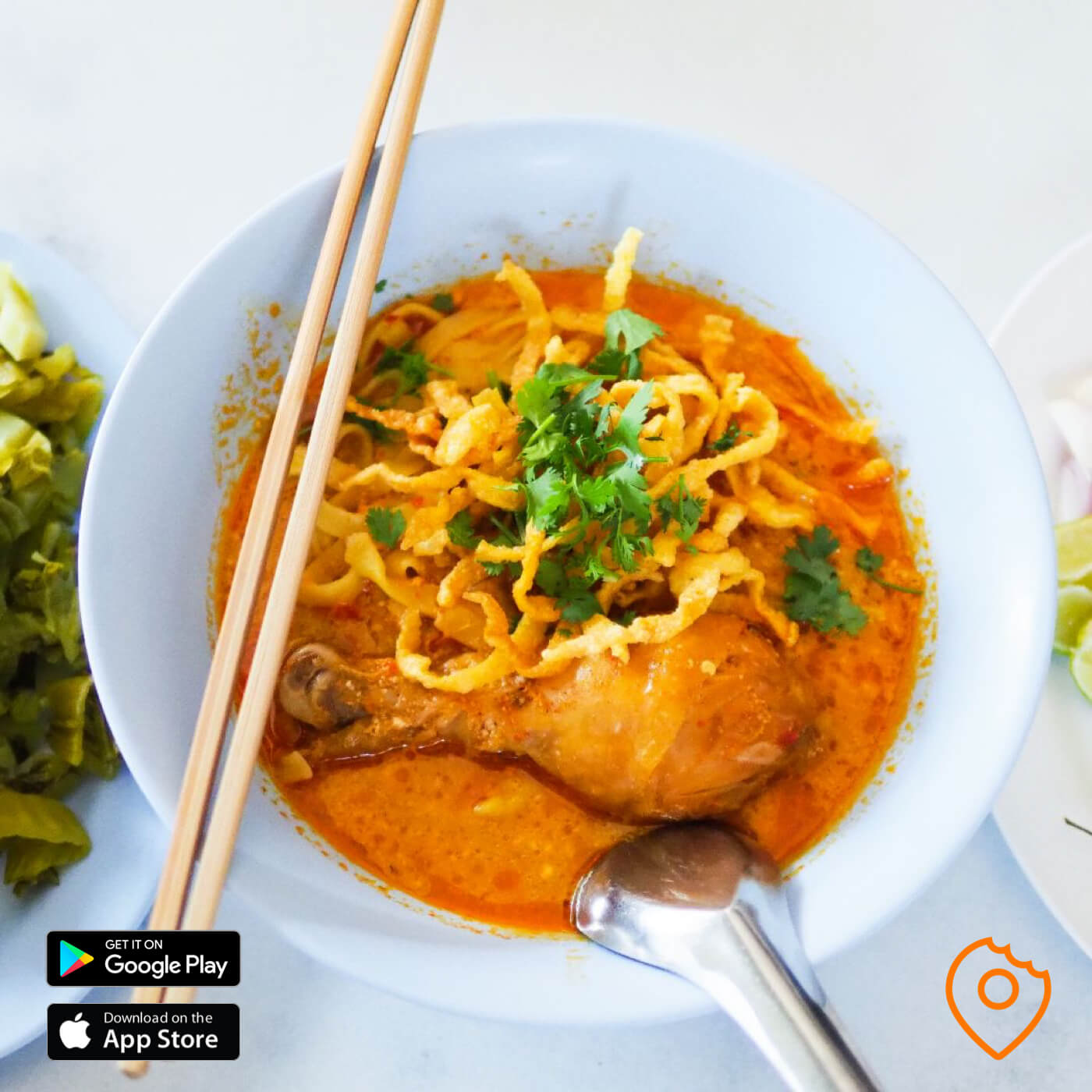 Thai food for foreigner - Khao Soi