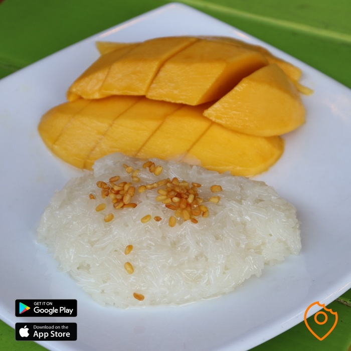 Thai food for foreigner - mango sticky rice