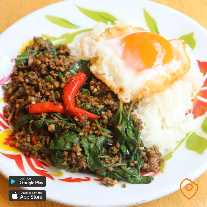 Thai food for foreigner - Pad Kra Pao