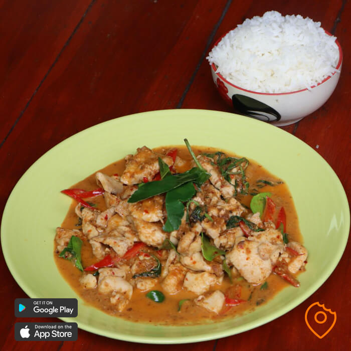 Thai food for foreigner - penang curry