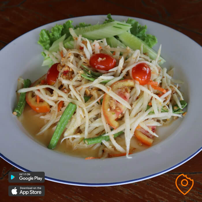 Thai food for foreigner - Som Tum