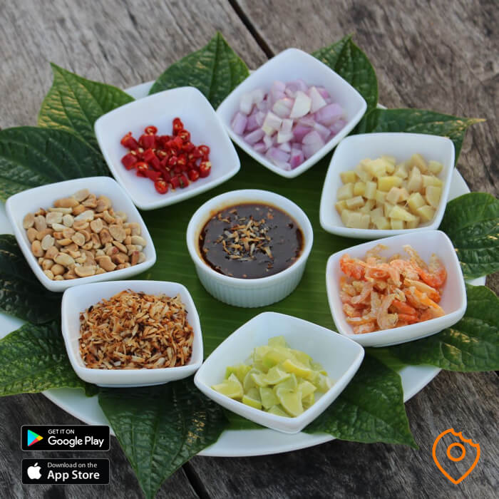 not spicy Thai Miang Kum