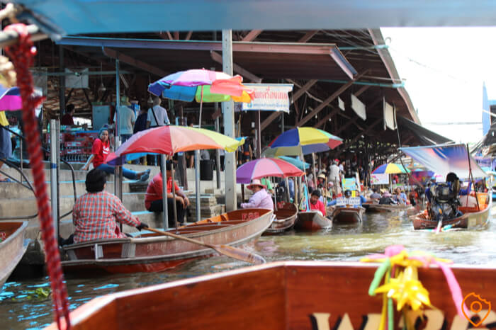 Thailand Itinerary For Kids - Floating Market